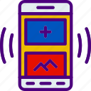 add, app, interaction, interface, mobile, new, picture icon