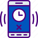 alarm, app, interaction, interface, mobile icon