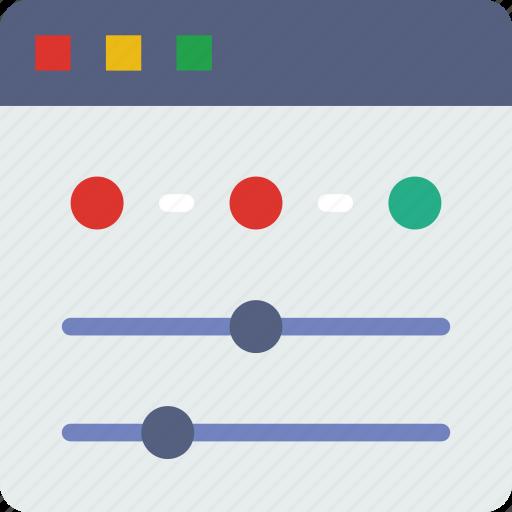 interaction, internet, settings, user, web icon
