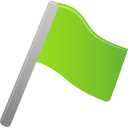 flag, green