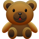 bear, teddy icon