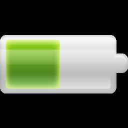 battery, half icon