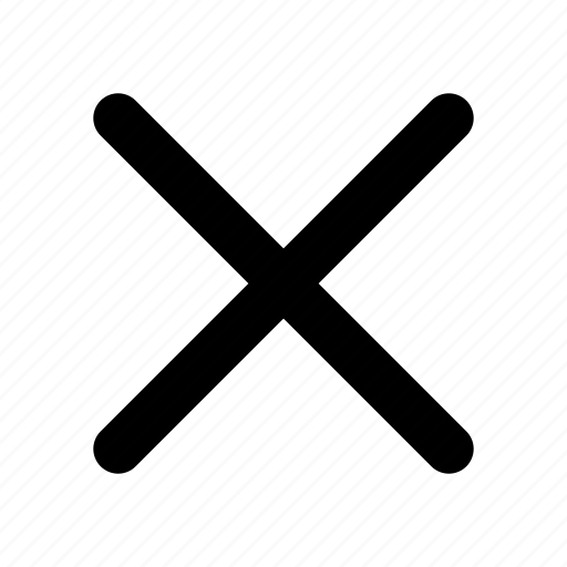 Close, cancel, delete, exit, remove icon - Download on Iconfinder