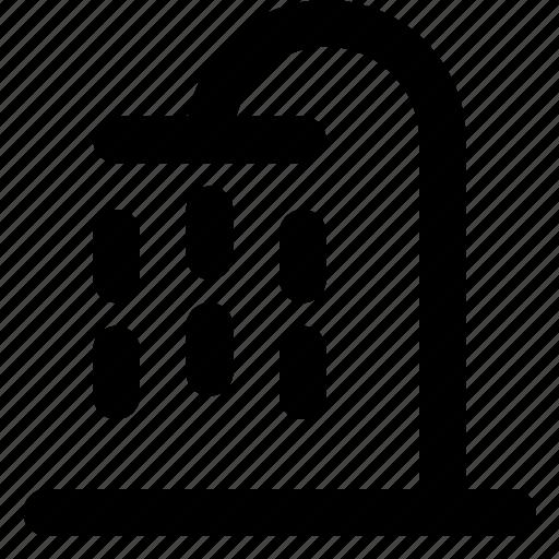 Shower, bath, bathroom, water icon - Download on Iconfinder