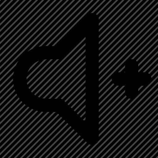 Sound, up, audio, music, volume icon - Download on Iconfinder