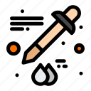 color, dropper, eyedropper icon