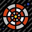 catalog, palette, color, sample, wheel icon