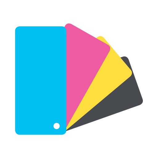 cmyk, color, color chart, colour, design, palette, printing icon