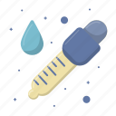color, drop, eyedropper, pick, picker, sample, tool icon