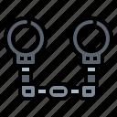 arrest, chain, criminal, handcuff, police