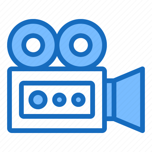 camera, film, movie, recorder, video icon