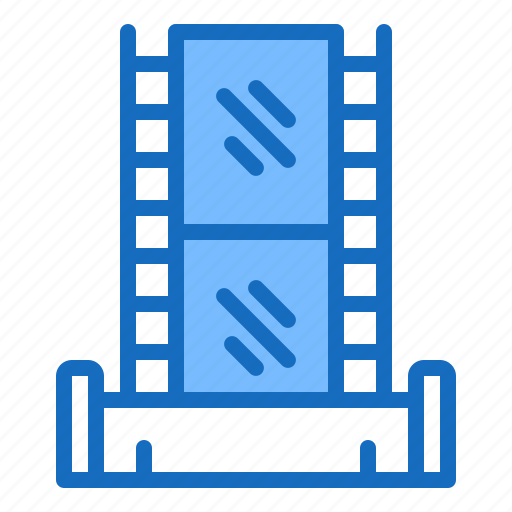 film, frame, movie, scene, video icon