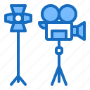 camera, movie, shooting, studio, video icon