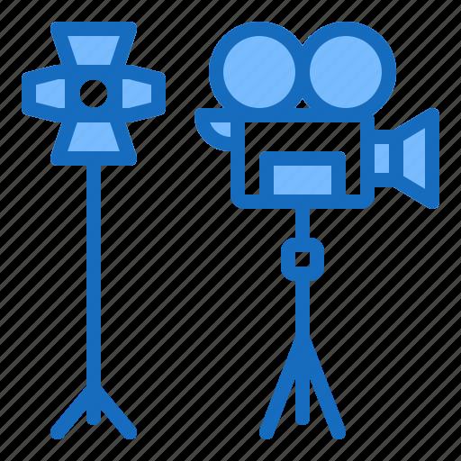 Camera, movie, shooting, studio, video icon - Download on Iconfinder