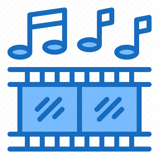audio, movie, musical, production, sound icon