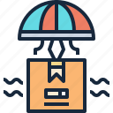 delivery, goods, logistic, shipping icon