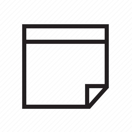 agile, draft, notepad, notice, reminder, scrum, sticker, sticky label icon