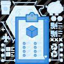checklist, clipboard, list, pencil, product