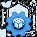 box, cogwheel, gear, options, preferences, product, settings