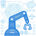 arm, factory, hook, industry, production, robotic