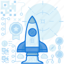 business, launch, management, product, rocket, start, up