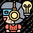 innovation, technology, robotic, automate, futuristic