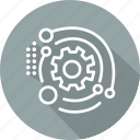 automation, business, management, product, workflow icon