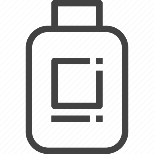 bottle, packaging, plastic, product icon