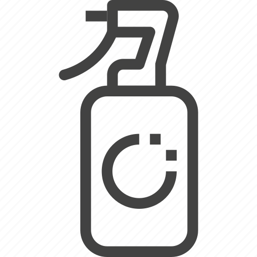 bottle, packaging, product, spray icon