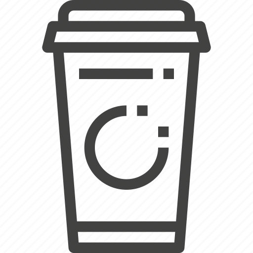 coffee, cup, drink, packaging, paper cup, product icon