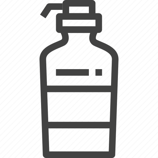 bottle, lotion, packaging, product icon
