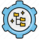 filing, preferences, system icon
