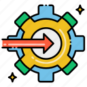 arrows, integrate, integrated, integrations icon