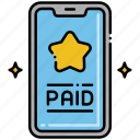 online, paid, service