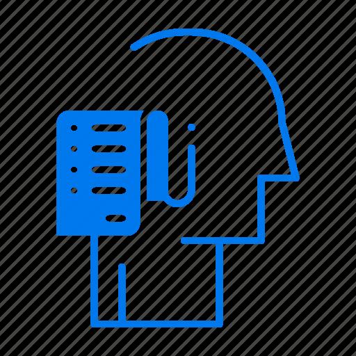 human, list, person, schedule, tasks icon