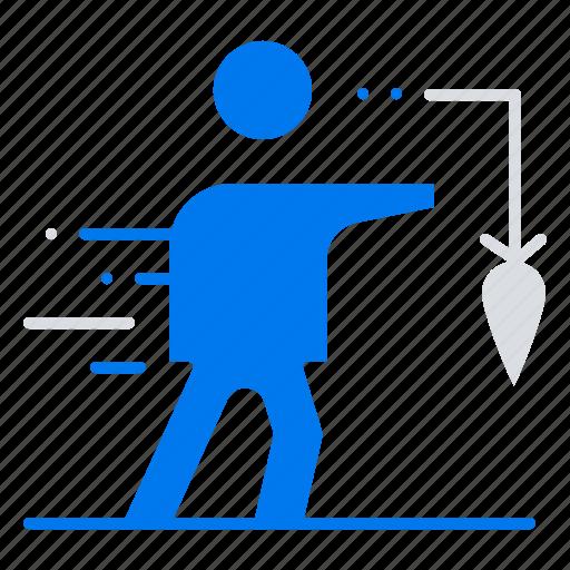 Aspiration, business, extrinsic, false, goal icon - Download on Iconfinder