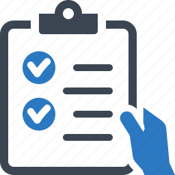 check mark, checklist, tasks done icon
