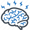brain, brainstorming, ideas icon