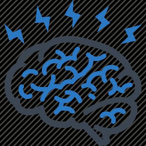 brain, brainstorming, ideas icon