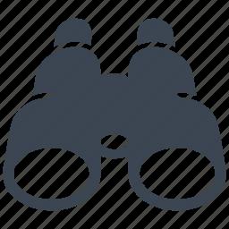 binoculars, explore, opportunity icon