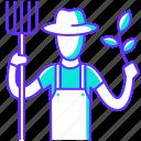 agriculture, farmer, farming, garden, gardening, profession, tree