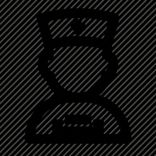 avatar, hospital, job, nurse, people, profession, profile icon