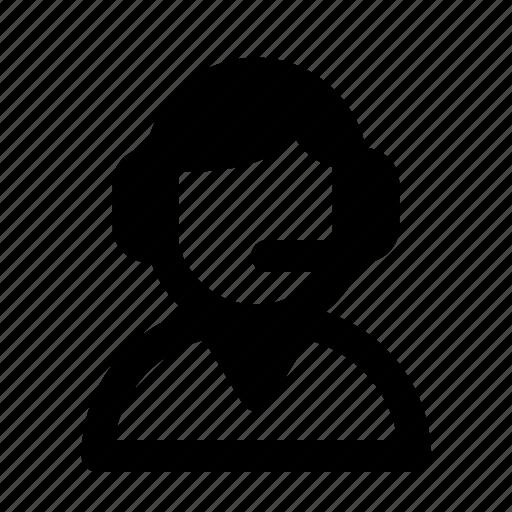avatar, customer service, job, people, profession, profile icon