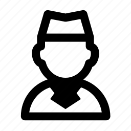 avatar, flight attendant, job, people, profession, profile icon