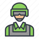 army, avatar, military, soldier icon