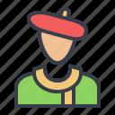 artist, avatar, designer, painter icon