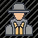 avatar, detective, explorer, spy