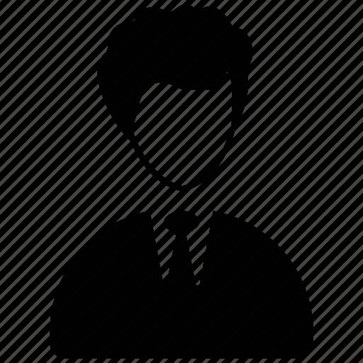 accountant, avatar, boy, corporate person, financial advisor, investor icon