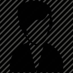 boy, boy face, guy, male, male silhouette, young boy icon