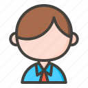 avatar, office worker, profile, user icon